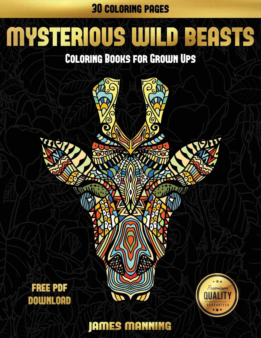 Amazon com: Coloring Books for Grown Ups (Mysterious Wild