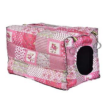 Lembeauty Hamster - Hamaca con Gancho para Colgar en la Cama, diseño de Animales pequeños, Cubo de algodón, para cobayas: Amazon.es: Productos para mascotas