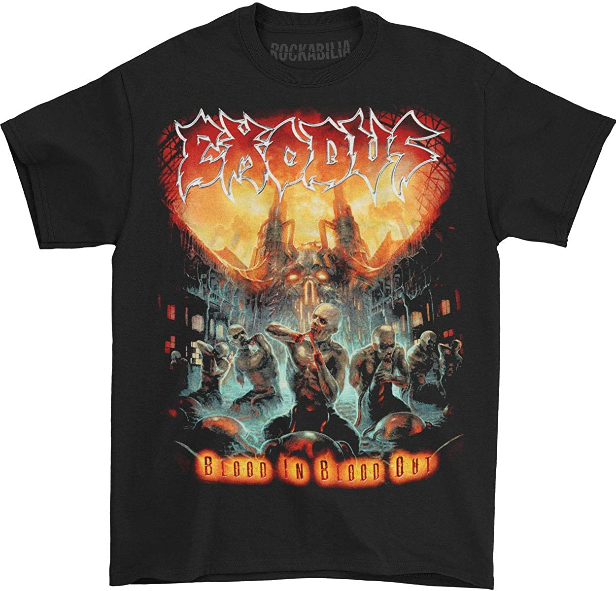Amazon Com Exodus Men S Blood In Blood Out T Shirt Small Black