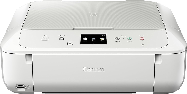 Canon PIXMA MG6851 - Impresora, Color Blanco: Amazon.es: Informática