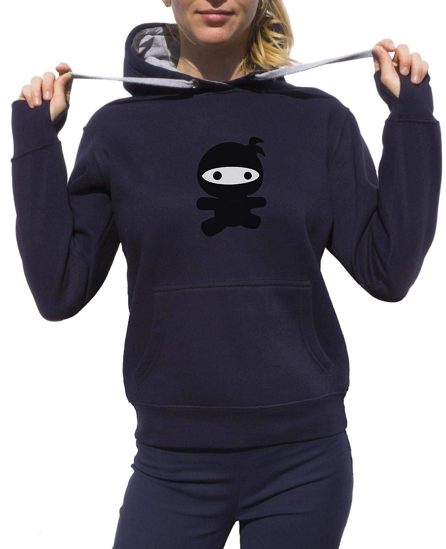 KrisTalas Sudadera con Capucha Mujer Ninja Clothing Small ...