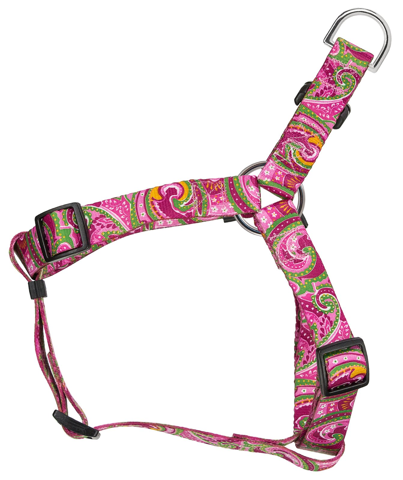 Country Brook Petz | Pink Paisley Featherweight Step-in Dog Harness - Extra Small