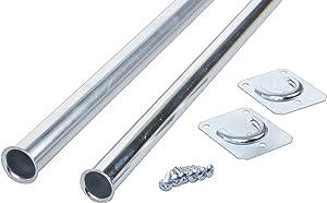 Knape & Vogt Closet Pro CD-0024-18/30ZC Heavy Duty Adjustable Rod, 18 by 30-Inch, Zinc Plated
