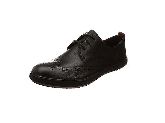 Clarks Komuter Run, Zapatos de Cordones Derby para Hombre