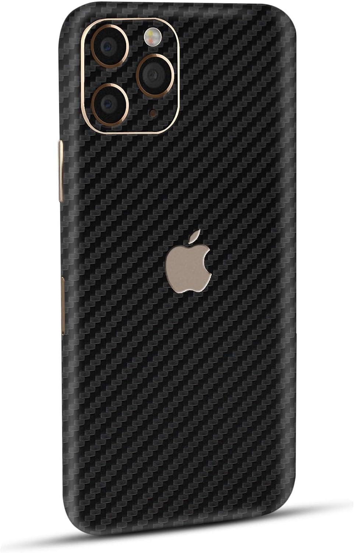 Damage /& Fingerprints Normout iPhone 11 Pro Skin Protective Film Back Carbon Black 2x iPhone 11 Pro Protective Film Back 2x iPhone 11 Pro Camera Protection Protects Against Scratches