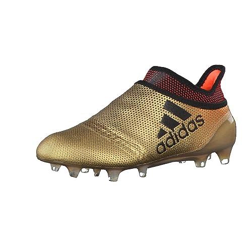 adidas X 17 Fg, Scarpe da Calcio Unisex-Bambini, Oro Tagome/