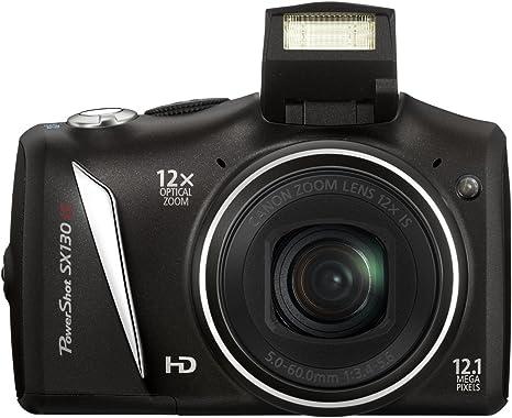 Canon PowerShot SX 130 IS - Cámara Digital Compacta 12.4 MP (3 ...
