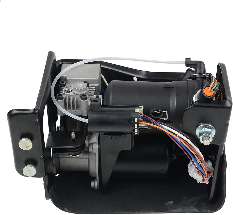 AKWH Air Suspension Compressor 15254590 for Cadillac Escalade Chevrolet Avalanche 1500 Suburban Gmc Yukon 2002-2006 19299545 20930288