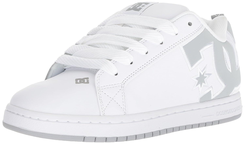 blanc gris gris 45.5 EU DC chaussures Court Graffik SE Pour des hommes chaussures D0300927, paniers mode homme