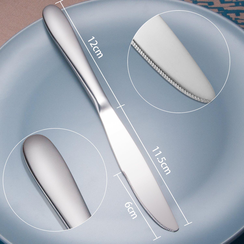 Dimension eines Tafelmessers