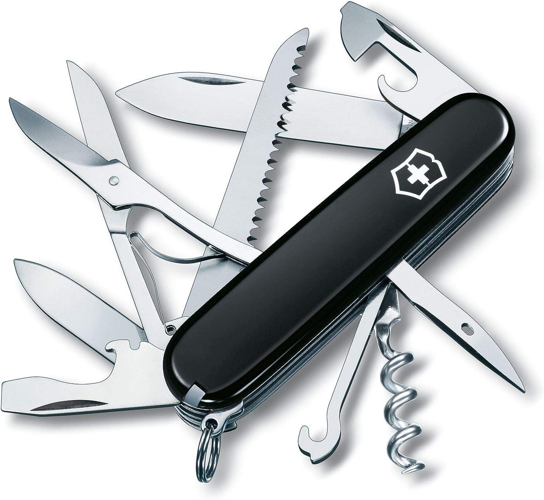 Victorinox Huntsman - Navaja de bolsillo multiusos suiza