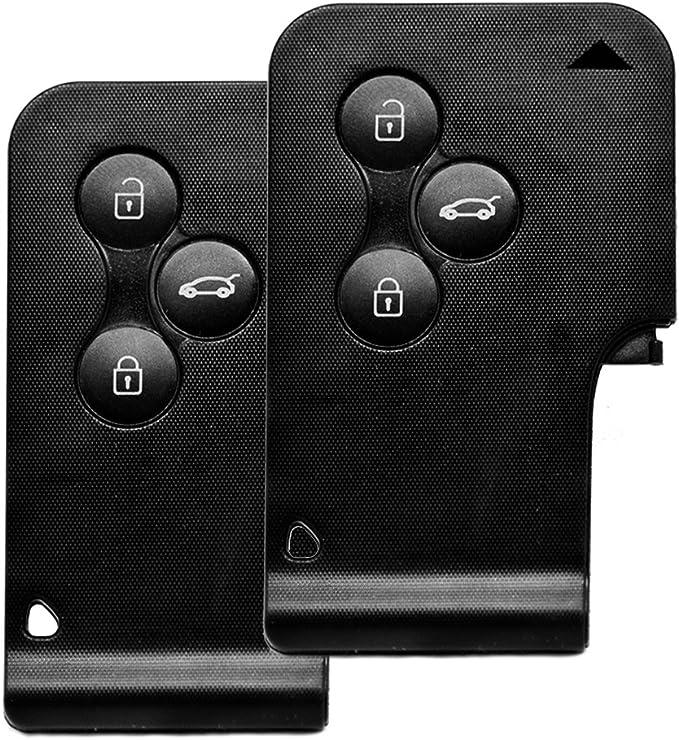 Auto Schlüssel Funk Fernbedienung 2x Keycard Gehäuse 3 Elektronik
