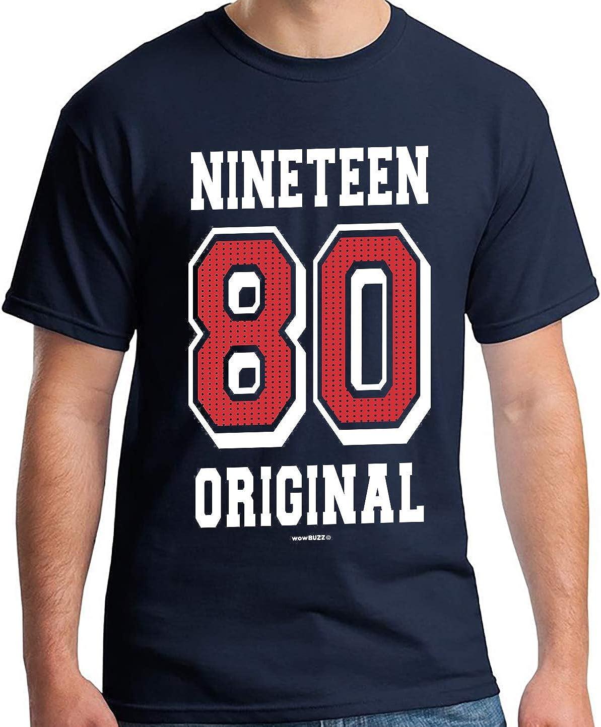 40th Birthday Gifts 40 cumpleaños Hombre Original Camiseta: Amazon.es: Ropa y accesorios