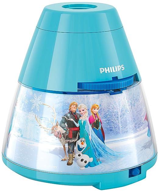 435 opinioni per Philips e Disney Frozen Lampada da Tavolo Proiettore LED, Azzurro
