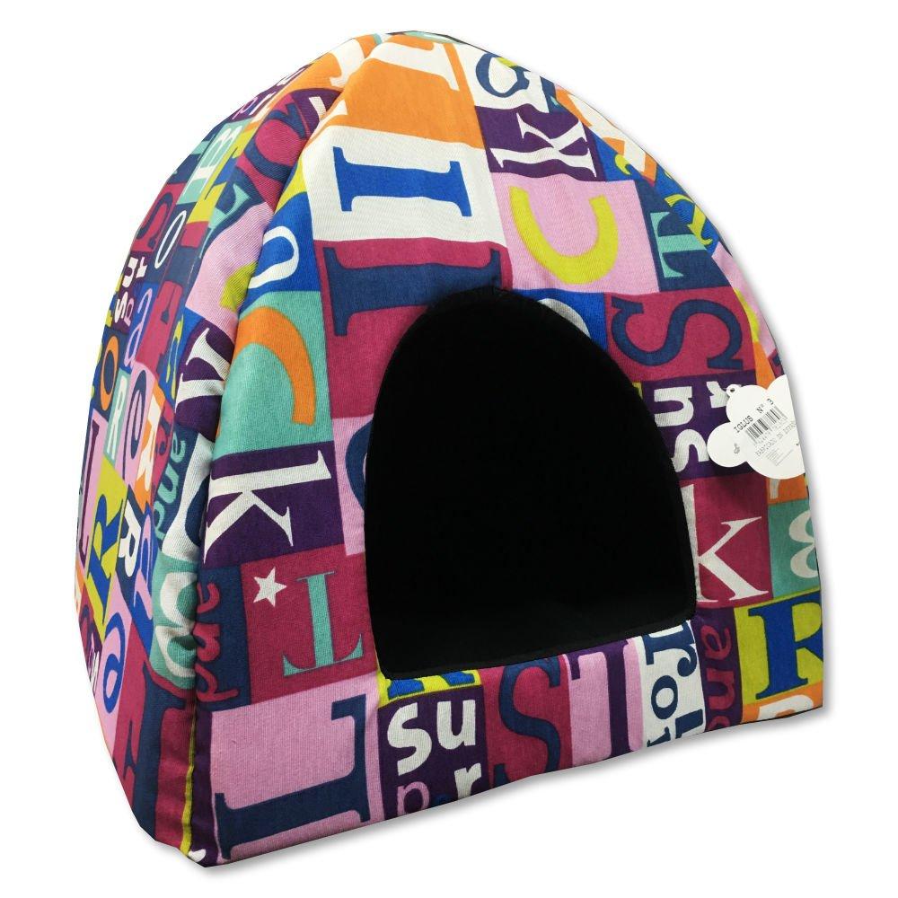 AngelPet Caseta iglú para Gatos o Perros pequeños Talla 3: Amazon.es: Productos para mascotas