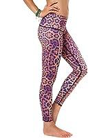 Teeki Purple Awakening Hot Pant Yoga Leggings