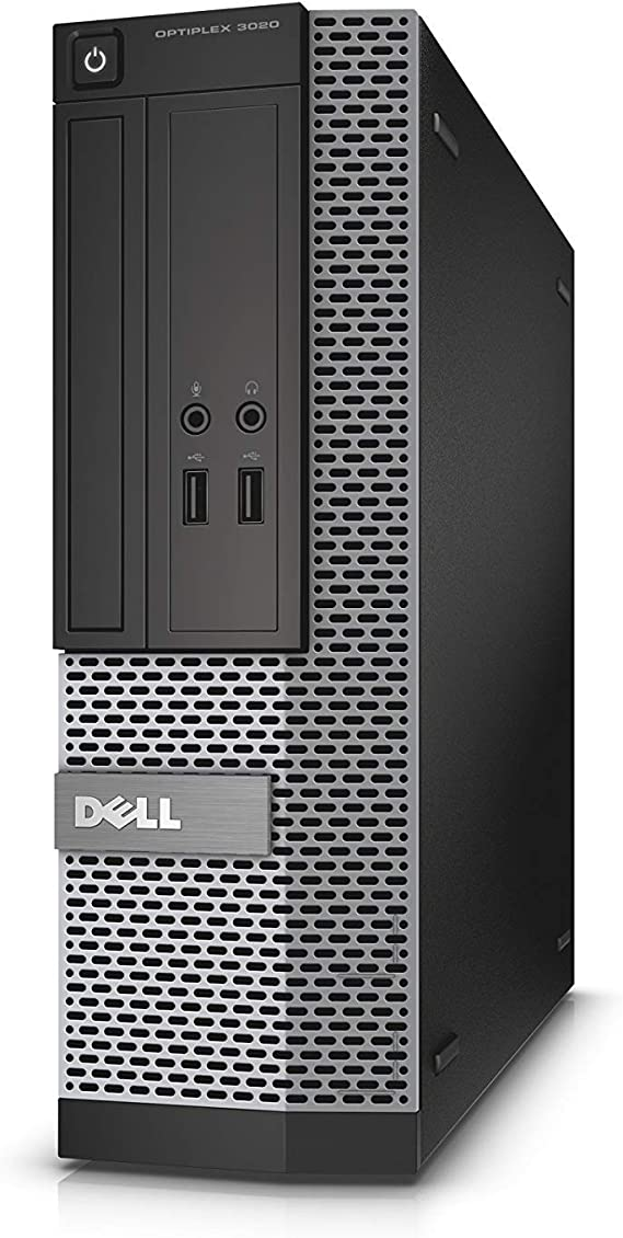 Dell Optiplex 3020 SFF Desktop PC - Intel Core i5-4570 3.2GHz 8GB 500GB DVDRW Windows 10 Professional (Renewed)