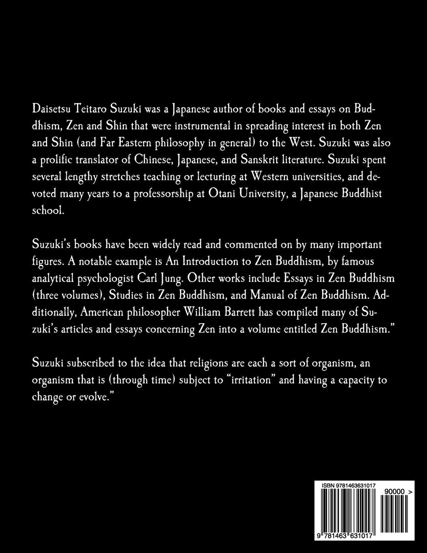Manual of Zen Buddhism: Amazon co uk: Daisetz Teitaro Suzuki
