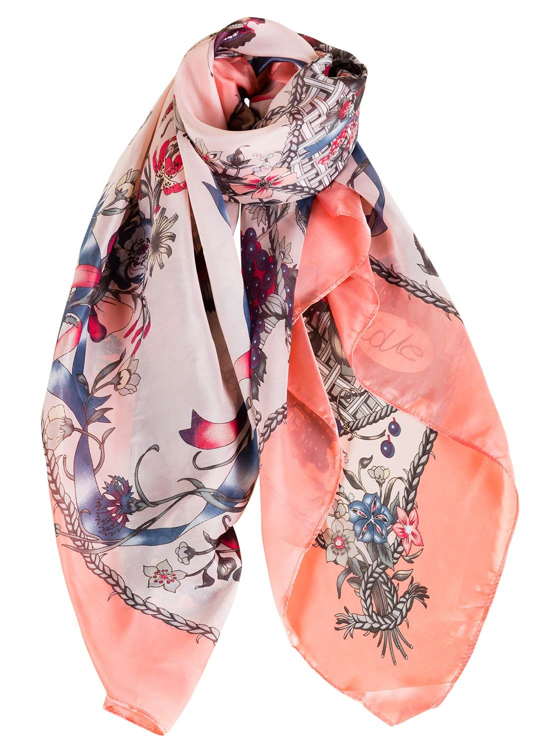 Women Cotton Long Scarf Lady's Shawls Large Soft Multicolor Sea Beach Covers Spring Summer Autumn Winter Beach Wraps Shawl Pink