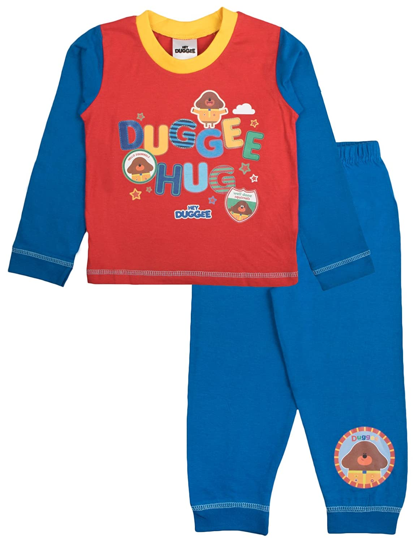 Hey Duggee Boys Long Pyjamas Pjs LB5649