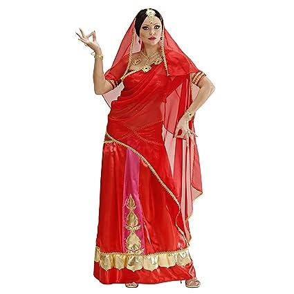 WIDMANN 73843 Adultos Disfraz Bollywood Bailarinas, 44: Amazon.es ...
