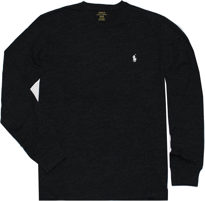 prepotente cessare accurato  Polo Ralph Lauren Men's Crew Neck Long Sleeve Tee at Amazon Men's Clothing  store
