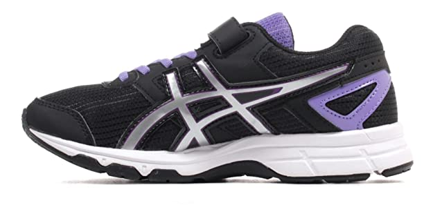 05aac0d9175 ASICS Boys  Pre Galaxy 8 PS Running Shoes Black 12  Amazon.co.uk  Shoes    Bags