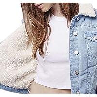 Sodossny-AU Women Winter Lamb Wool Lined Corduroy Quiled Coat Outerwear Warm Parka