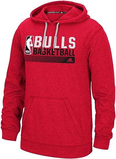 acre Conectado sacerdote  Amazon.com : adidas Chicago Bulls NBA Icon Status Men's Climawarm Hooded  Sweatshirt : Clothing