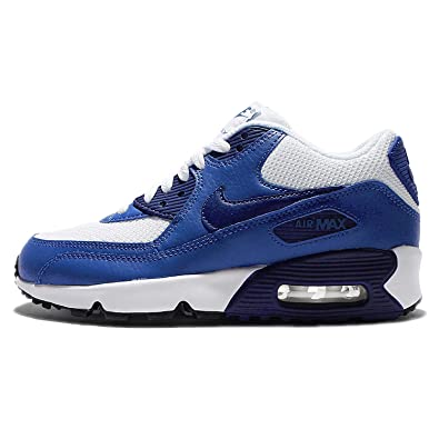 best service 10b73 5c4d4 Nike Cool Grey Electric Green-White, Sneakers garçon - Blanc - White Deep  Royal Blue Black 105,  Amazon.fr  Chaussures et Sacs