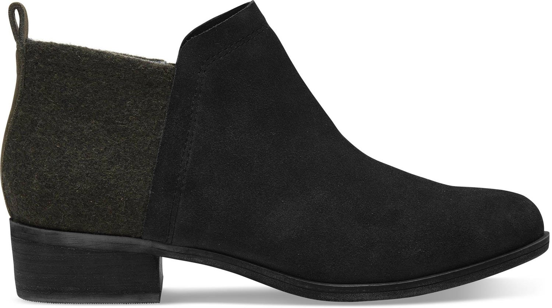 TOMS Womens Majcut Cotton Open Toe Casual Mule Sandals, Black/Black, Size 10.0