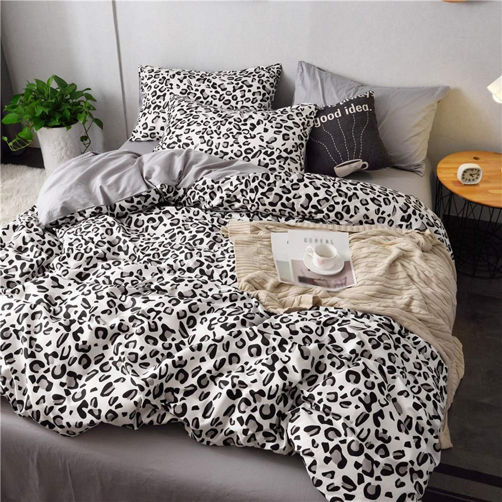 Cotton Quilt Cover Sheets - Double Bed Linen - Student Dormitory Single Bed Set (Color : C, Size : 1.2m)