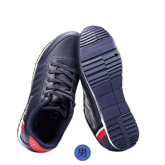 Amazon.com | Men Athletic Run Sneaker Jogging Leather Footwear for Mens Breath Flat Sport Shoes Off Black Male Light Walking Shoes | Walking