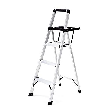 Rubbermaid RMA-3XST 3 Lightweight Aluminum Stool Step Ladder