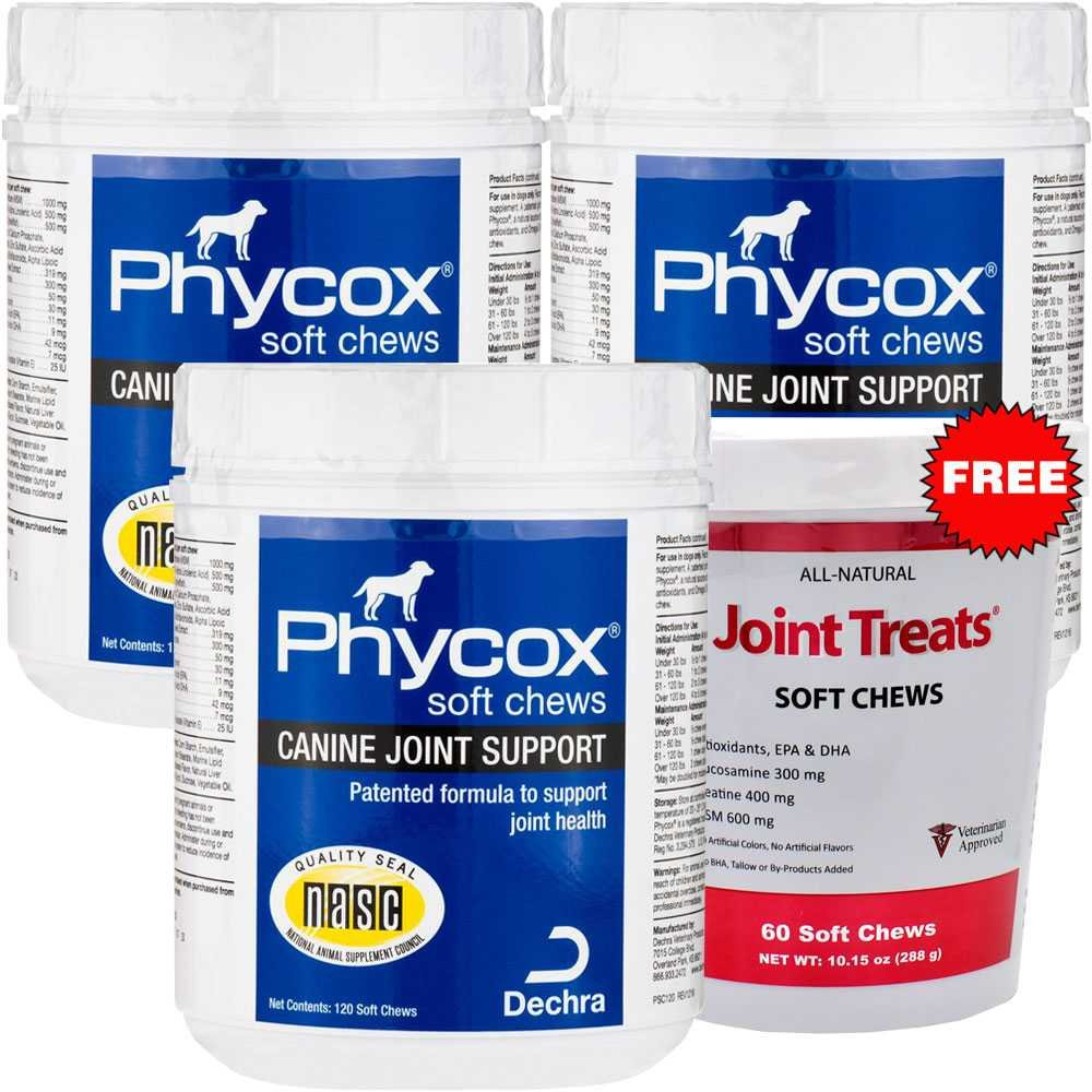 Best Rated In Cat Hip Joint Care Helpful Customer Reviews Nutrimax Healthy 60 Tablet 3pack Phycox One Soft Chews 360 Free Treats