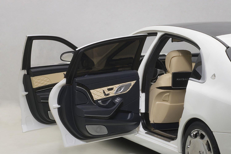 Resultado de imagen de Autoart 1/18 Mercedes-benz Maybach s klasse S600 76291