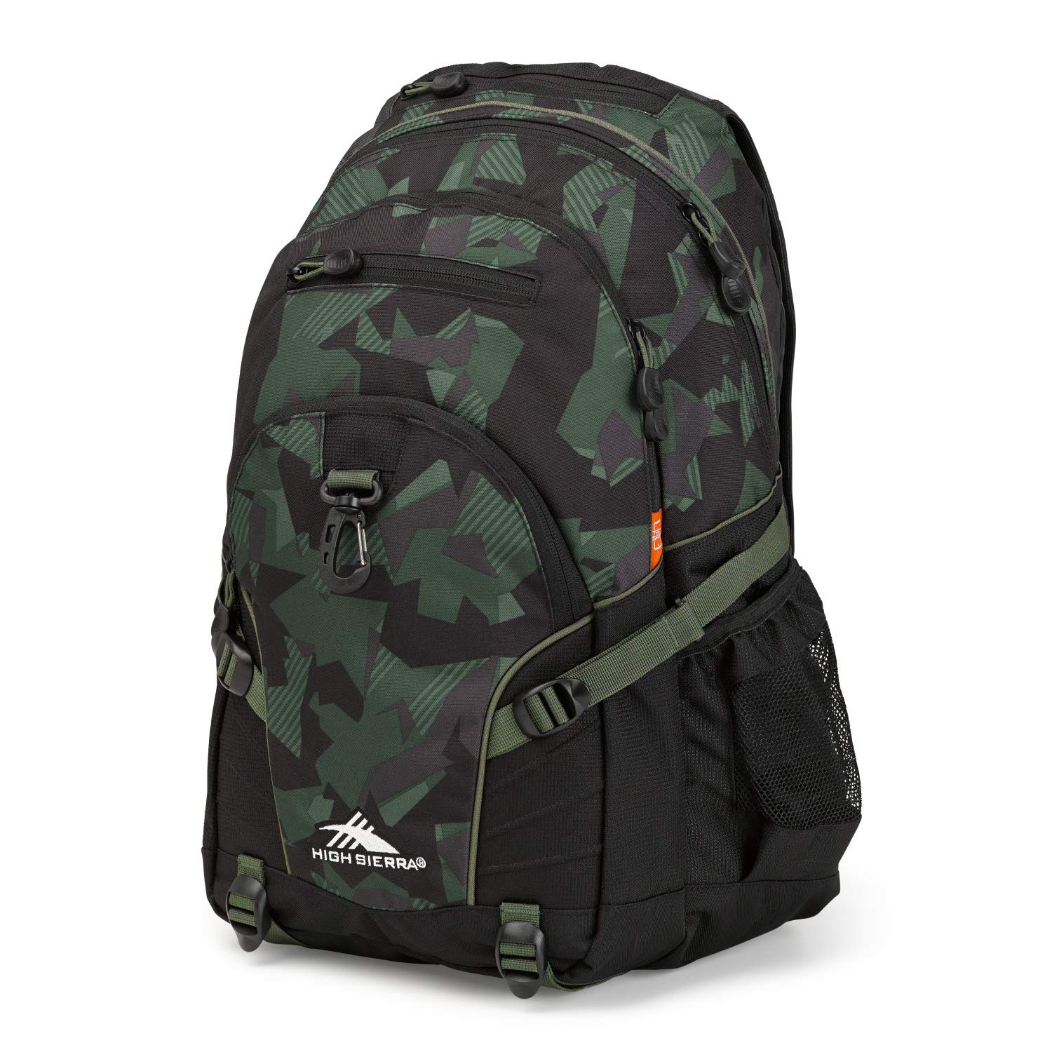 High Sierra Loop Backpack for Men and Women, Compact Bookbag Backpack for College Students or Business Professionals, Stylish Lunch Backpack, Lightweight Unisex Backpack for School, Office, or Travel by High Sierra