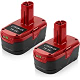 Powilling 2Pack 5.0Ah 19.2 Volt Lithium Battery Replacement for Craftsman C3 Battery XCP Craftsman 19.2 Volt Battery…