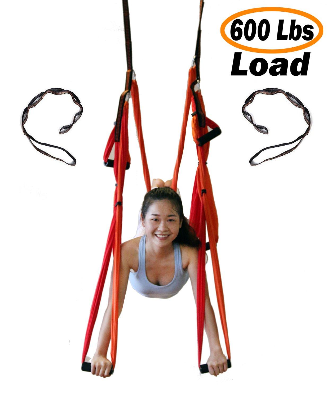 MDPQT Yoga Trapeze Yoga Swing Blue Patchwork