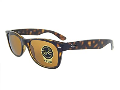 9cc0ca5588c Amazon.com  Ray Ban Wayfarer RB2132 710 Havana Crystal Brown ...