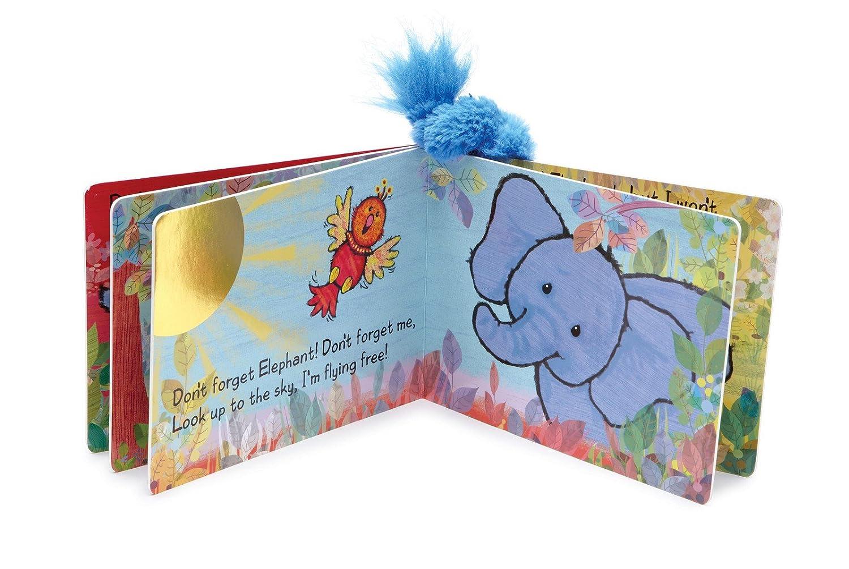 amazon com jellycat board books forgetful elephant book 6