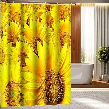 3D-Duschvorhänge schönen Poolblick Muster Badezimmer ...