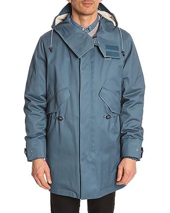 82501fe89e LACOSTE LIVE - Parkas - Men - Blue Hooded Parka for men - 54: Amazon.co.uk:  Clothing