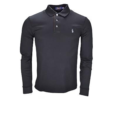 Ralph Lauren - Polo - Blusa - para Hombre Negro XL: Amazon.es ...