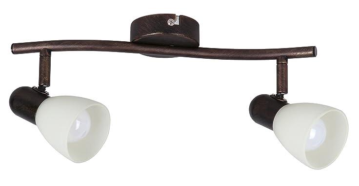 Deckenstrahler Antik Von Rabalux | Deckenleuchten U2022 Decken Lampen U2022  Wohnzimmerlampen | Metallic Braun |