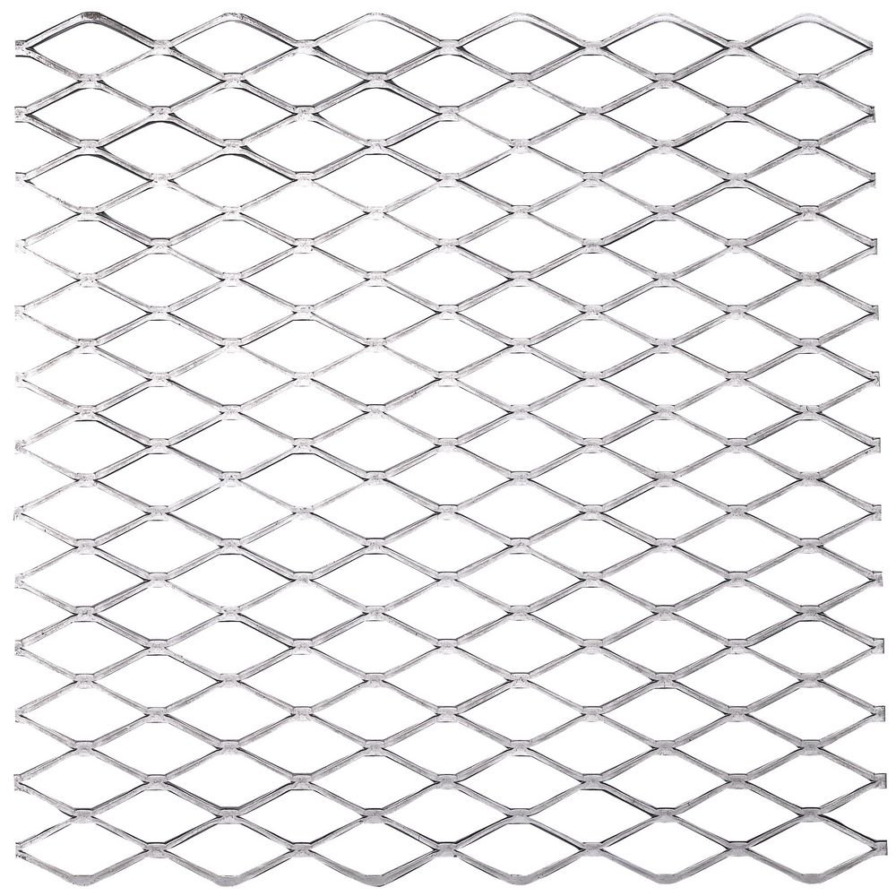 National Hardware N301-598 4075BC Expanded Steel in Plain Steel, 12'' x 12''