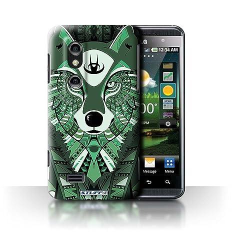 Carcasa/Funda STUFF4 dura para el LG Optimus 3D P920 / serie ...
