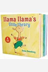 Llama Llama's Little Library Board book