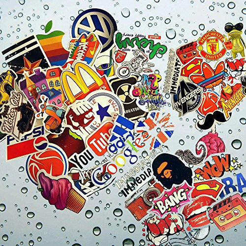 Premium Pack & Only Bag of 100+50 Bonus Pokemon & Vinyl Graffiti Decal Logo Stickers-Personalize laptops, Skateboard, Snowboard, Car,Helmet,Luggage,Bikes.Great Halloween stickers treat!!