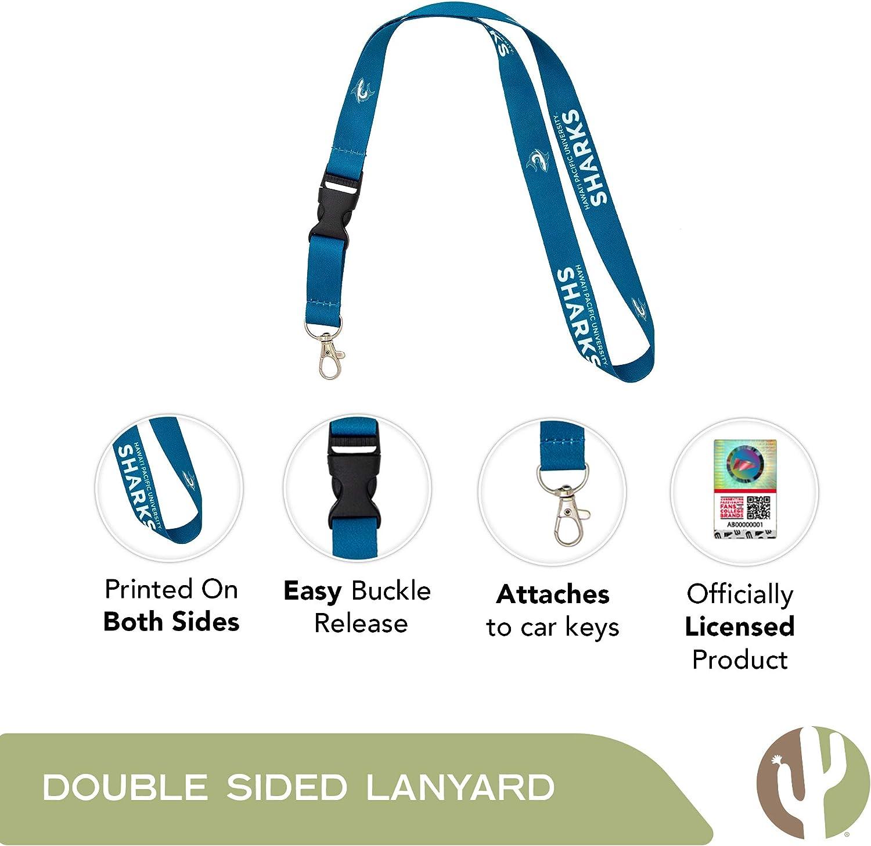 Hawaii Pacific University NCAA Car Keys ID Badge Holder Lanyard Keychain Detachable Breakaway Snap Buckle